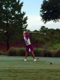 Izzy M. Pellot is going into r2 with a 1 stroke lead at the NFPGA Junior PGA Championships