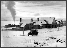 1934. Llega el primer tren a Bariloche.