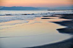 il mare di Forte dei Marmi al tramonto  #winter #inverno #mare #forte dei marmi #versilia #lucca #tuscany # pontile #pier