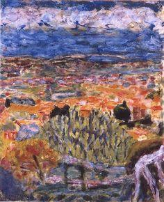 Pierre Bonnard - Vue de Cannet
