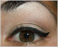 Tutorial - Cat Eye Liner, Liquid Liner Tips, Neutral Eye