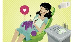 Dental Care during Pregnancy- Illustration by Lillian Chan
