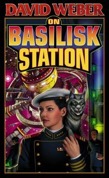 I haven't read all of this series yet, but it is all that is good about military sci-fi - alien creatures, spaceships (and explosions!), actions with consequences, and awesome fight scenes only made possible in space. Also, Honor lives up to her name splendidly.