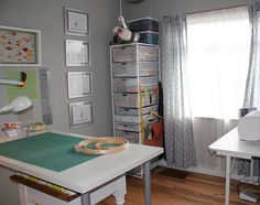 Sewing Room | If only it would stay this neat and clean... | Mary | Flickr