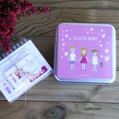 Cajas de regalo personalizadas, rellénala bloc de notas, tarjetas de visita, agenda anual...