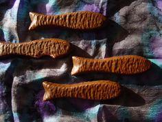 Chocolate Fish. Filled with pink marshmallow #kiwiana