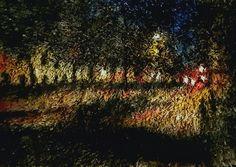 Mäkelänkatu. Acrylic on carpet. #carpetpainting #mäkelänkatu