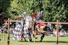 GALLERY: Knights of Destrier return to Hedingham Castle for jousting tournament…