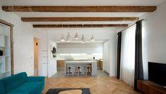 N APARTMENT 1930s House, Flooring, Mirror, Interior Design, Bed, Furniture, Home Decor, Nest Design, Decoration Home