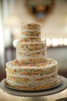 The Beauty Of The Naked Cake