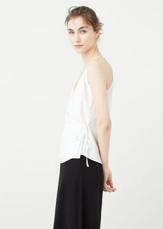 Wrapped top -  Women | MANGO USA