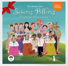 "Panamanian Folklore ChildrenBooks ""Señoras Polleras"""