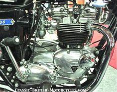 1973 triumph motorcycle engine,  650