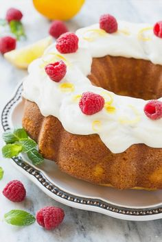 Classic Lemon Bundt Cake | Community Post: 27 Heavenly Things To Make When Life Gives You Lemons
