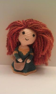 Just too cute. Merida from Brave