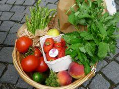 Einkauf auf dem Wochenmarkt :) Sooo lecker, frisch und nachhaltig!