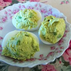 Avocado Deviled Eggs for Mothers Day