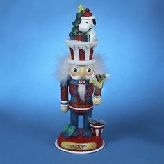 Nutcrackers 177743: Hollywood Peanuts Snoopy And Woodstock Wooden Christmas Nutcracker 12 Inch -> BUY IT NOW ONLY: $44.98 on eBay!