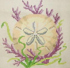 SAND DOLLAR cross stitch