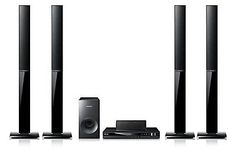 Home Theater Systems: Samsung Ht-E355k Multi Region 5.1 Channel Karaoke Dvd Home Theater System BUY IT NOW ONLY: $417.29