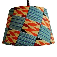40cm tapered drum lampshade READY TO SHIP by DetolaAndGeek on Etsy