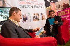 Guy-Dominique Kennel, Président du Conseil Général du Bas-Rhin et Philippe Meyer, Conseiller Général à la Foire Européenne © Denis Guichot / CG67