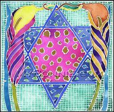 STAR of DAVID Shalom Peace Jewish Stars by MyBonnieDesigns