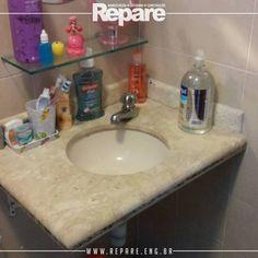 Instalação de torneira.