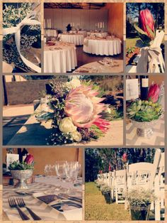 A Beautiful Wedding with a different feel of vintage decor*