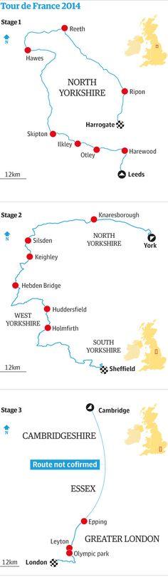 Tour de France 2014: English route is unveiled