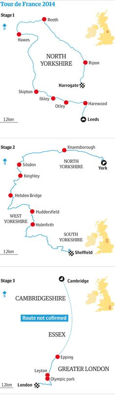 Tour de France 2014: English route is unveiled
