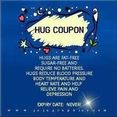 The tighter the hug, the better it feels!  #NationalHuggingDay #MindfulMoments OurMLN.com