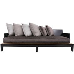 Christian Liaigre Sofa/Daybed : On Antique Row West Palm Beach - Christian… Antique Sofa, Vintage Sofa, Contemporary Sofa, Modern Sofa, Chaise Sofa, Sofa Chair, Sofa Design, Furniture Design, Interior Design