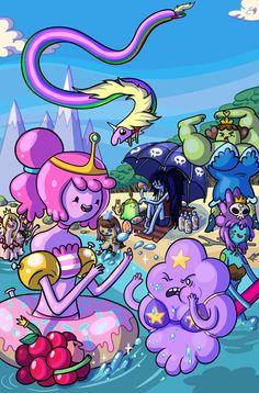 Ladies of Adventure Time. #adventuretime