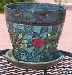 mosaic pot 5 More