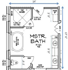 bathroom floor plans with free standing tub and walk in shower rh pinterest com