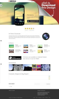 """Grizzly - Responsive App Showcase / Corporate agency, android, app, apps, business, corporate, ios, ipad, iphone, portfolio, pricing table, responsive, showcase, theme, wordpress Grizzly Girzzly is a Responsive WordPress theme crafted for App Showcase / Corporate web site. Support various mobile platform. Unlimited Styles and Easy to Customize. Current Version : 3.1.2 more detail below. New Key Features in 3.0.0 Add """"iPhone 5"""" (b..."""