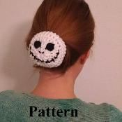 Jack Skeleton Bun Sock  - via @Craftsy