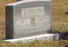 ROBISON / WARD___Harley W Robison (1882-1943) & Ibie Jane (Ward) Robison (1882-1968)