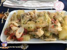 lo stoccafisso del secolo è una ricetta semplice veloce e gustosissima per preparare questo pesce dal gusto particolare.