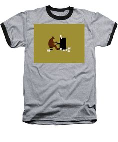 The Bear Play, Black Image, Heather Black, Things That Bounce, Beer, Stylish, Mens Tops, T Shirt, Root Beer