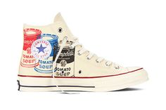 Andy Warhol x Converse 2015 Chuck Taylor Collection