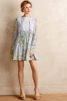 Pleated Greenhouse Dress - anthropologie.com