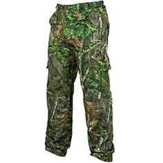 12c48f62963a9 Mossy Oak Men's Tibbee Technical Lightweight Camo Hunting Pants, Obsession,  ...