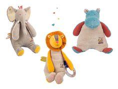 Nous vous présentons aujourd'hui les personnages phares de la collection Les Papoum de Moulin Roty : l'éléphant, le lion et l'hippopotame. Retrouvez-les dans leur environnement naturel sur notre site :http://www.jeujouet.com/moulin-roty-les-papoum Faites découvrir la collection et la marque à votre entourage ! #LesPapoum #MoulinRoty #Jeujouet