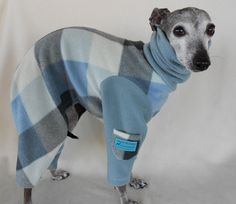 Fuzzy Warm Plaid Italian Greyhound and Small Dog par hatz4brats, $28,50