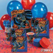 Batman Heroes Party Supplies