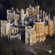Belvoir Castle in Leicestershire, is a stately home in the English country-side overlooking the Vale of Belvoir. Architectural style is Gothic Revival.