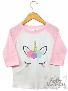 Unicorn shirt,unicorn kid shirt,unicorn girl shirt,sparkle unicorn shirt,unicorn raglan,unicorn tshirt,unicorn birthday,unicorn party by KraftyKreationsSA on Etsy