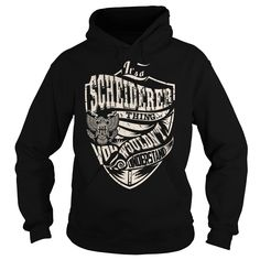 Its a SCHEIDERER Thing (Eagle) - Last Name, Surname T-Shirt